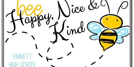 Bee Nice Bee Happy Bee Kind 5K & Family Fun Run 2021 tickets
