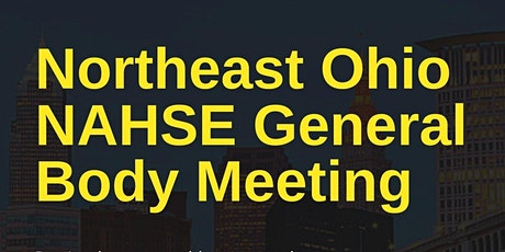 Northeast Ohio NAHSE General Body Meeting tickets