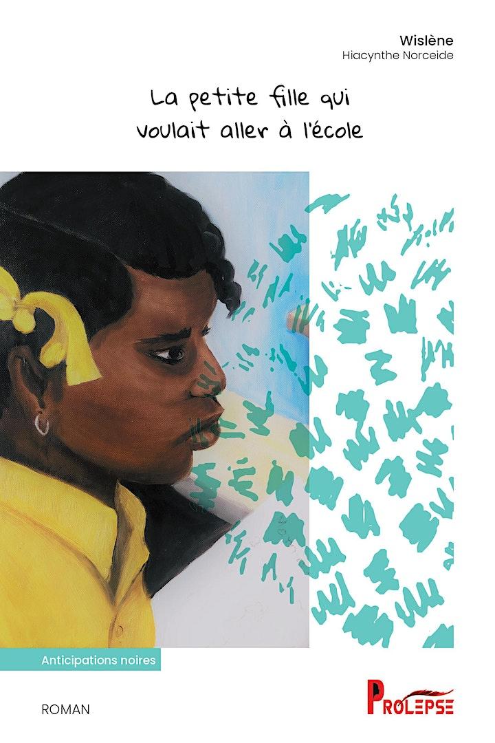 """Image de Lancement du livre """"La petite fille qui voulait aller à l'école"""""""