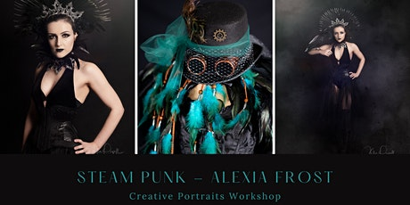 Creative Portrait Workshop -Gothic Steam Punk - PM Session tickets