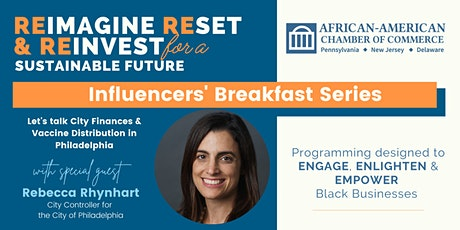 Influencer Breakfast: Rebecca Rhynhart, Philadelphia City Controller biglietti