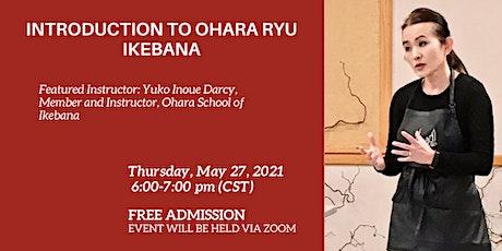 Introduction to Ohara Ryu Ikebana tickets