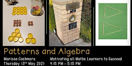 Patterns and Algebra F-6 tickets