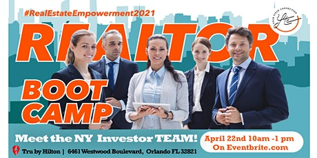 Realtor BOOT CAMP | New York Meets Florida! tickets