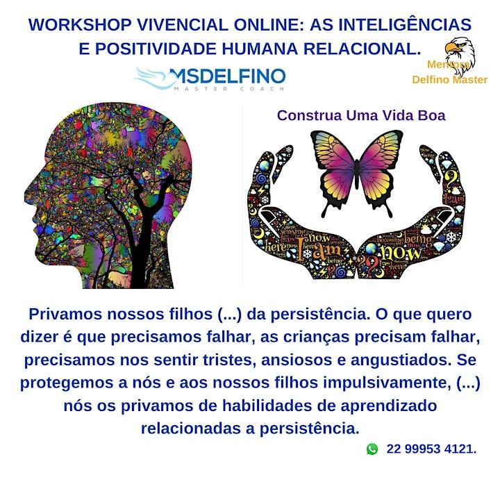 Imagem do evento Work. Vivencial Online – As Inteligências e Positividade Humana Relacional