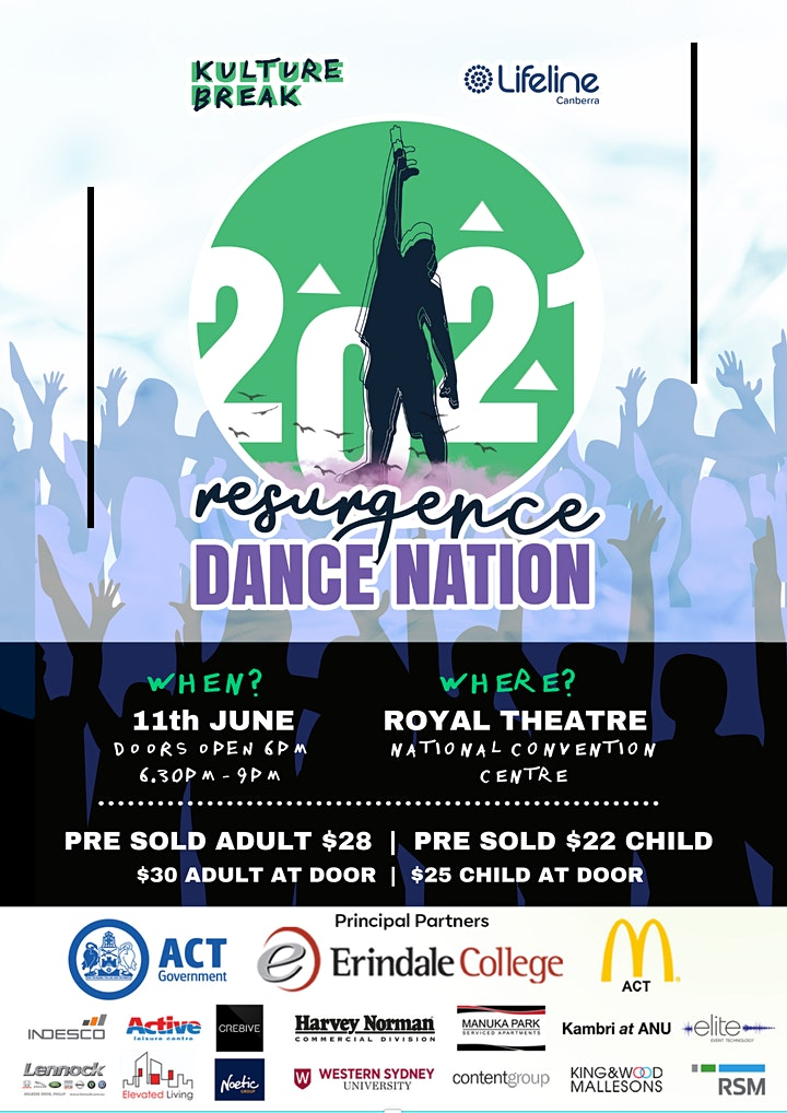 "Kulture Break's 2021 Dance Nation School's Spectacular ""RESURGENCE"" image"