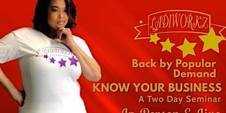 """Virtual """" KNOW YOUR BUSINESS SEMINAR"""" tickets"""