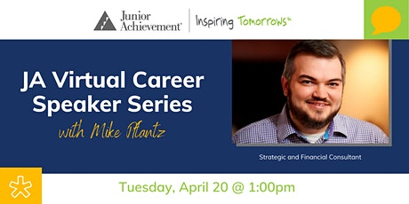 JA Virtual Career Speaker Series with Mike Pflanz tickets