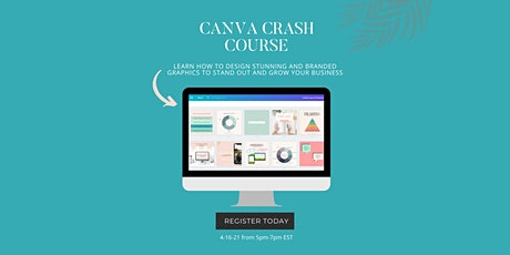 Canva Workshop: Design like a Pro in minutes tickets