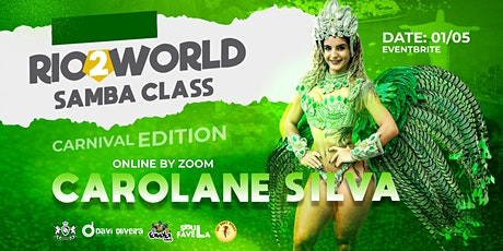 Rio2World Samba Class (Carnival Edition) tickets