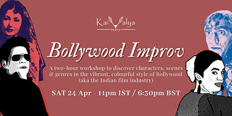 Bollywood Improv - Online Improv Theatre Workshop tickets