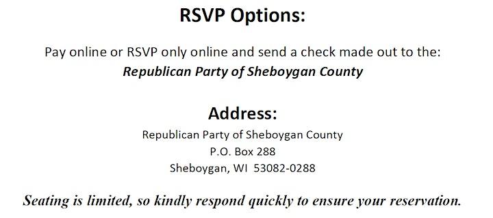 Sheboygan County Lincoln-Reagan Luncheon image