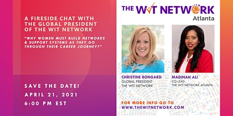 Fireside Chat with the Global President of the WIT Network tickets