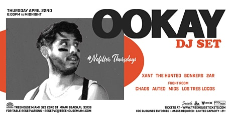 OOKAY @ Treehouse Miami tickets