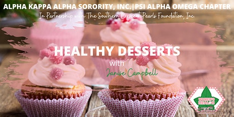 Psi Alpha Omega Chapter - Healthy Desserts tickets