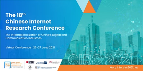 The 18th Chinese Internet Research Conference tickets