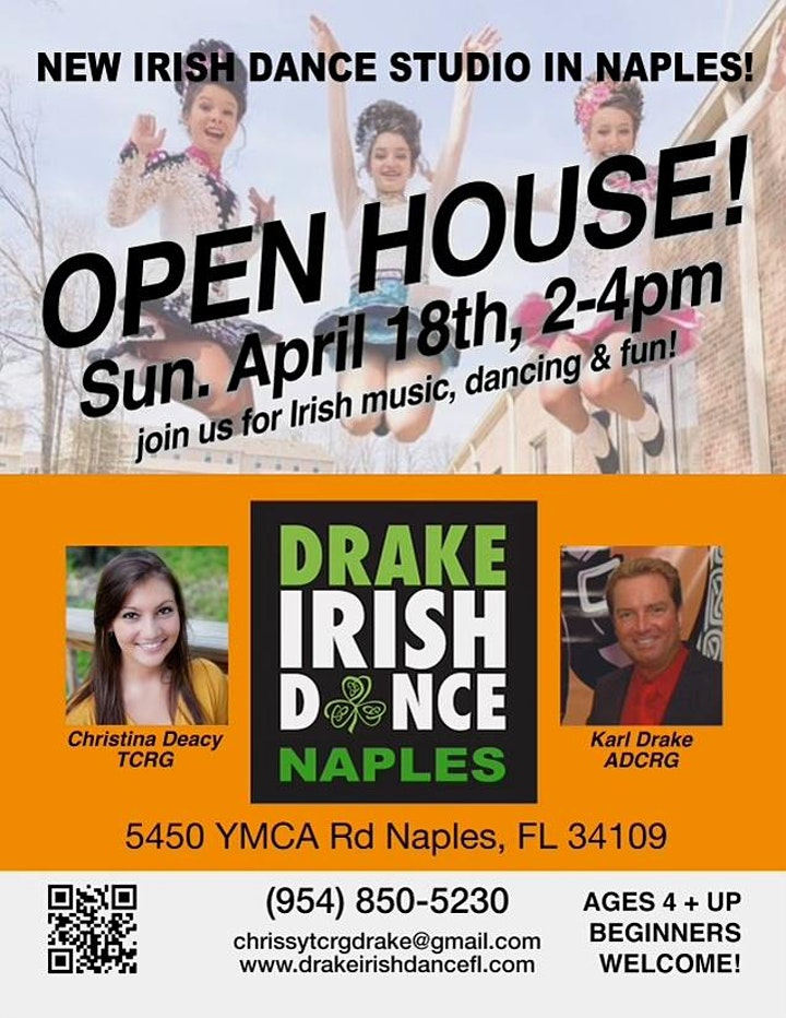 Drake Irish Dance Open House image