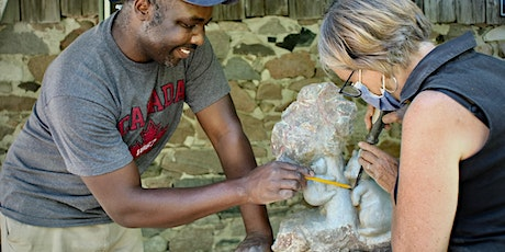 Stone Carving Class and Art in the Garden tickets