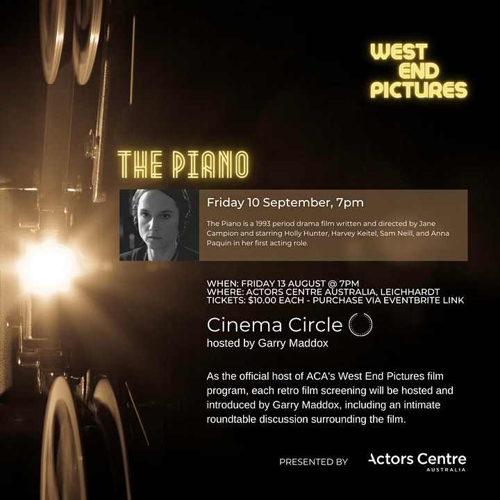 West End Films Presents a screening of The Piano image