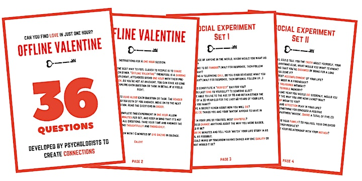 Offline Valentine Sydney | For Professionals Who Happen To Be Single image