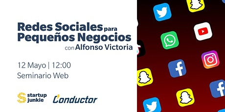 Redes Sociales para Pequeños Negocios | Social Media for Small Business tickets