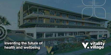Vitality Village Pre-launch Social tickets