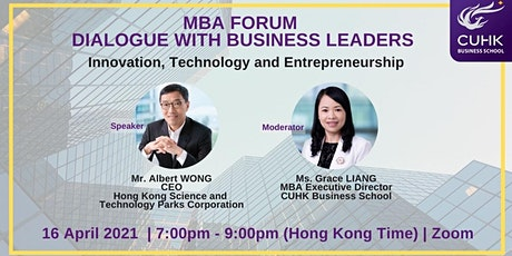 MBA Forum: Dialogue with Business Leaders tickets