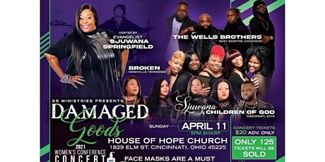 2021 Damaged Goods Conference Concert (VIRTUAL ACCESS) tickets