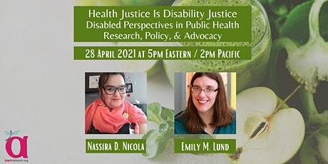 Health Justice is Disability Justice: Disability and Public Health tickets