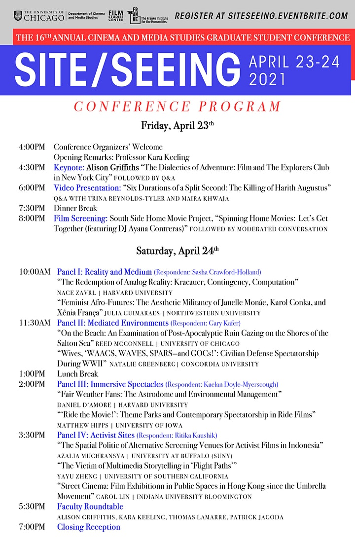Site/Seeing 2021 Graduate Student Conference image