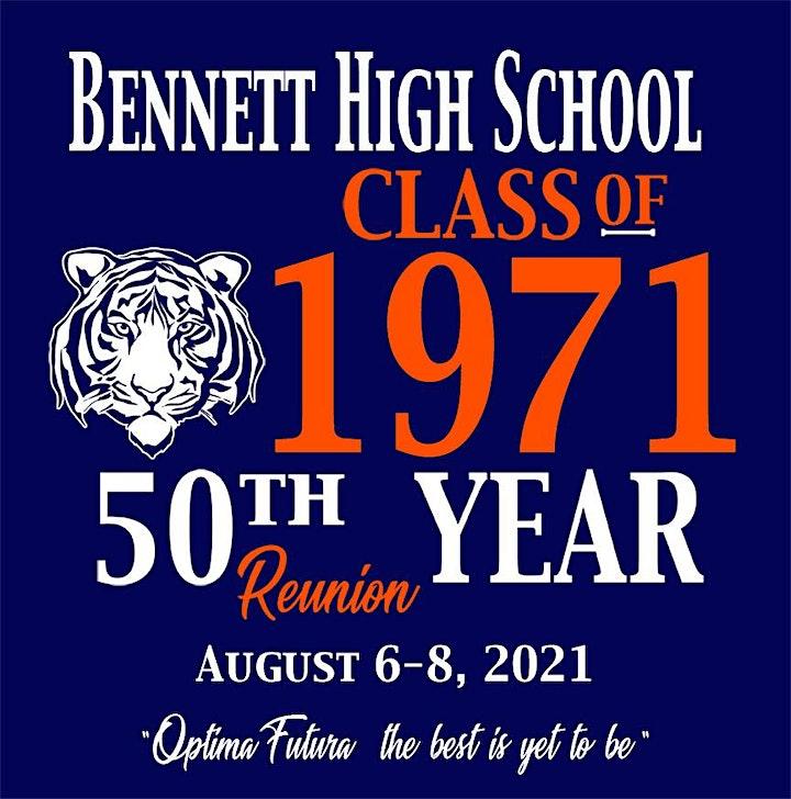 Bennett High School Class of 1971 50th  Reunion image