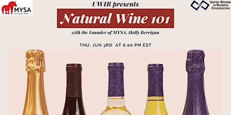 UWIB Presents: Natural Wine 101 with Founder of MYSA Holly Berrigan tickets