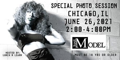 Just Model: Special Photo Session - Chicago, IL tickets