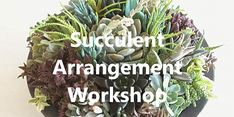 Succulent Arrangement Workshop tickets