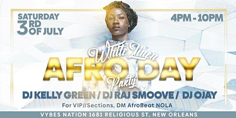 White Linen Afro Day Party tickets