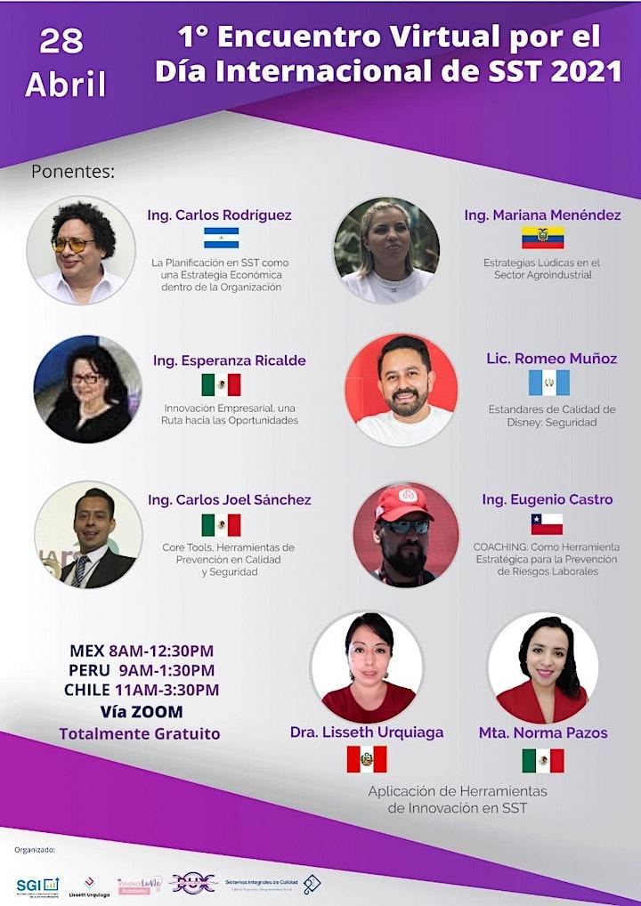 Imagen de 1er Encuentro Virtual Día Internacional de SST LATAM