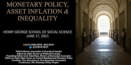 Monetary Policy, Asset Inflation and Inequality tickets