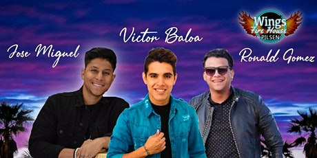 Sábado de Rumba Latina Ft Victor Baloa, Jose Miguel & Ronald Gomez tickets