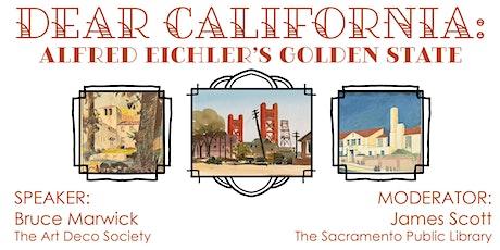 Dear California: Eichler's Golden State tickets