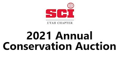 Safari Club Utah 2021 Annual Conservation Auction & Banquet tickets