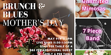 Brunch and Blues Mother's Day Event tickets