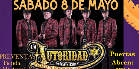 Autoridad De La Sierra tickets