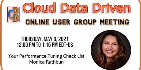 Your Performance Tuning Check List ~ Monica Rathbun tickets