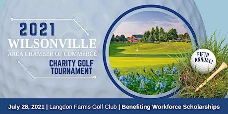 2021 Wilsonville Chamber Charity Golf Tournament tickets
