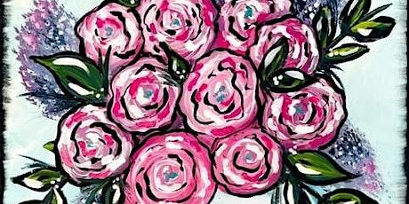 Spring Floral Canvas tickets