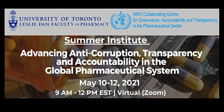 Summer Institute: Advancing Anti-Corruption in the Pharmaceutical System tickets