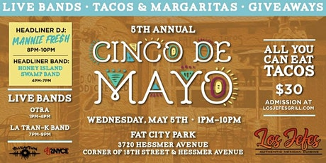5th Annual Cinco De Mayo tickets