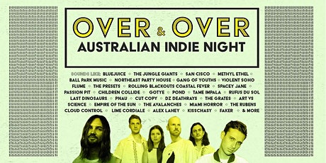Over & Over - Australian Indie Night tickets