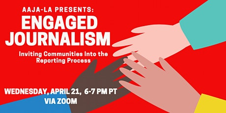 AAJA-LA Presents: Engaged Journalism Panel tickets