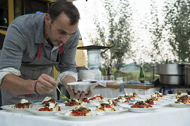 Chef Alberto Sabbadini Farm Dinner image